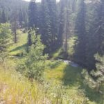 A photo from the ride my Dad and I did on the Mickelson Trail from the Dumont Trailhead to the Deadwood Trailhead