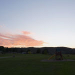 Sunset on September 2, 2019 from the center of the tent site area at Hart Ranch Resort near Rapid City, SD.  For the complete, high-resolution version of this picture, go to http://www.jazweb.us/images/Sunset2-Panorama.jpg
